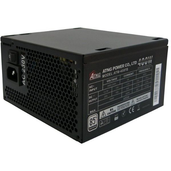 ATNG 400W PSU 6 PCI-E ErP 85% Ready OEM